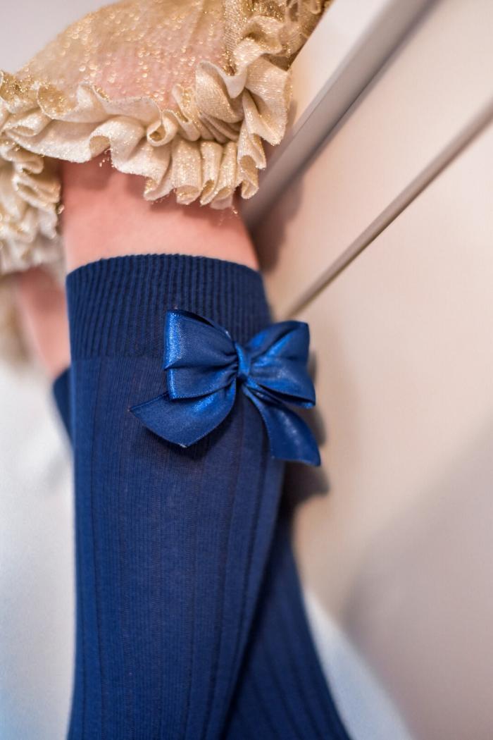 Baby & Kids kobalt blue s mašlí